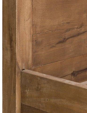 Decoraci n interior mueble consola estilo tnico oriental - Muebles madera natural ...
